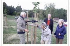 2007: Bei der Bauminspektion.
